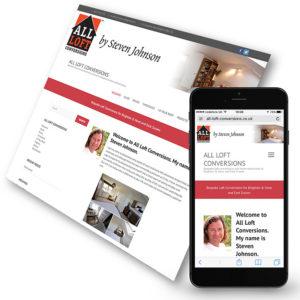 The new All Loft Conversions website