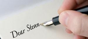 Dear Steven...