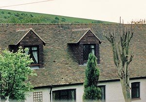 Mini pitched dormers on a period property.