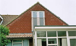 Gable end loft conversion